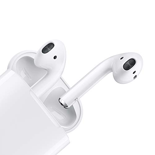 Apple AirPods con estuche de carga con cable