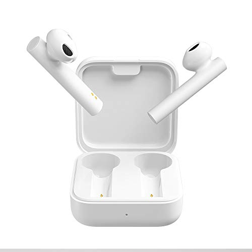 Xiaomi Mi True Wireless Earphones 2 Basic Bluetooth Auriculares Wireless,Inalámbricos Caja de Carga de Auriculares Portátil,Aplicable a iOS Android