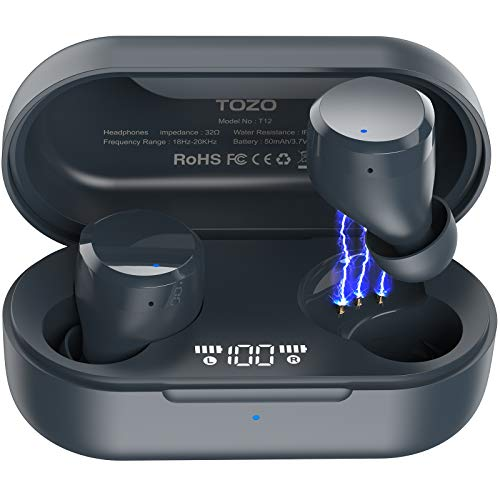 TOZO T12 TWS Earbuds Blue