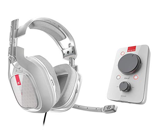 Astro Gaming A40 TR - Auriculares Gaming Inalámbrico + MixAmp Pro TR Gen 3, Sonido Dolby 7.1 Surround,Stream Personalizable, Microfóno Conmutable, Etiquetas Personalizables, PC/Mac/Xbox One