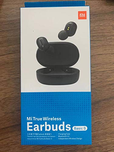 Xiaomi Mi True Wireless Earbuds Basic S, Model TWSEJ05LS, Schwarz