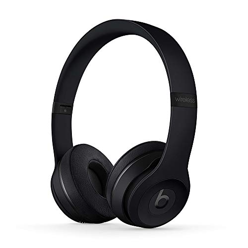 Beats Solo3 Wireless - Auriculares supraaurales - Chip Apple W1, Bluetooth de Clase 1, 40 horas de sonido ininterrumpido - Negro